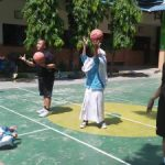 Jr NBA Filipina Coaching Clinic Siswa Simpon