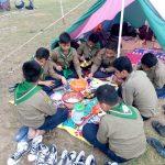 Siswa SMP Muhammaiyah 1 Simpon Solo Belajar Kemandirian Lewat Perkemahan Hizbul Wathan