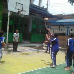 Junior NBA Coaching Clinic di SMP Muhammadiyah 1 Simpon Solo