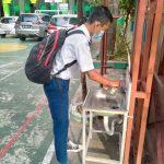 Simulasi Pembelajaran Tatap Muka di SMP Muhammadiyah 1 Simpon Surakarta tahun 2021